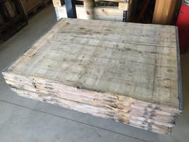 Industrial flooring boards 140x110 x 4 cm  ( 1000 x on stock !