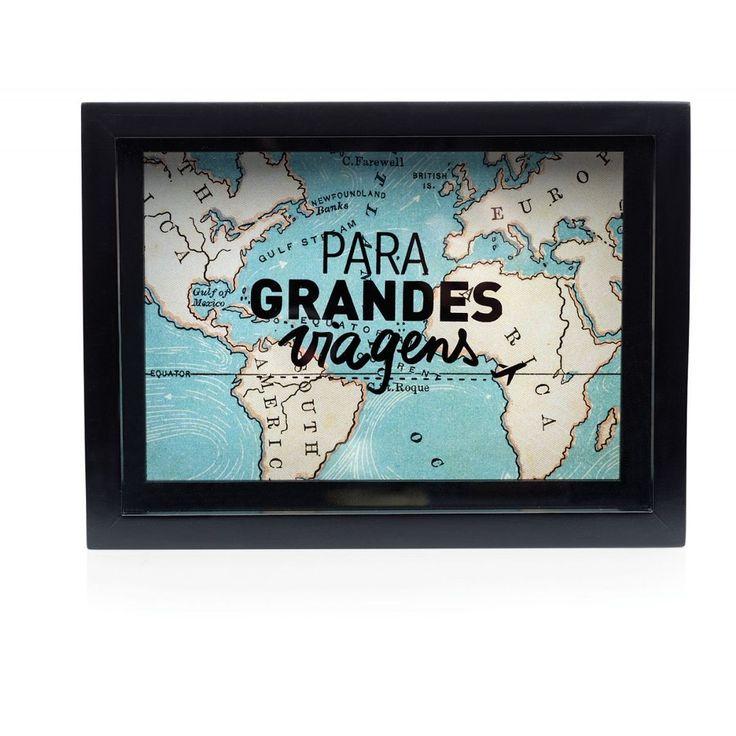 Cofre Porta Retrato Grandes Viagens - Imaginarium