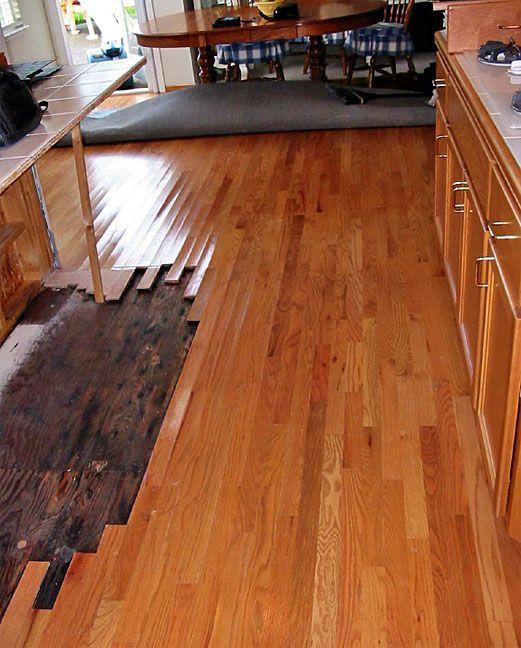 How To Wood Floor Repair Water Damage