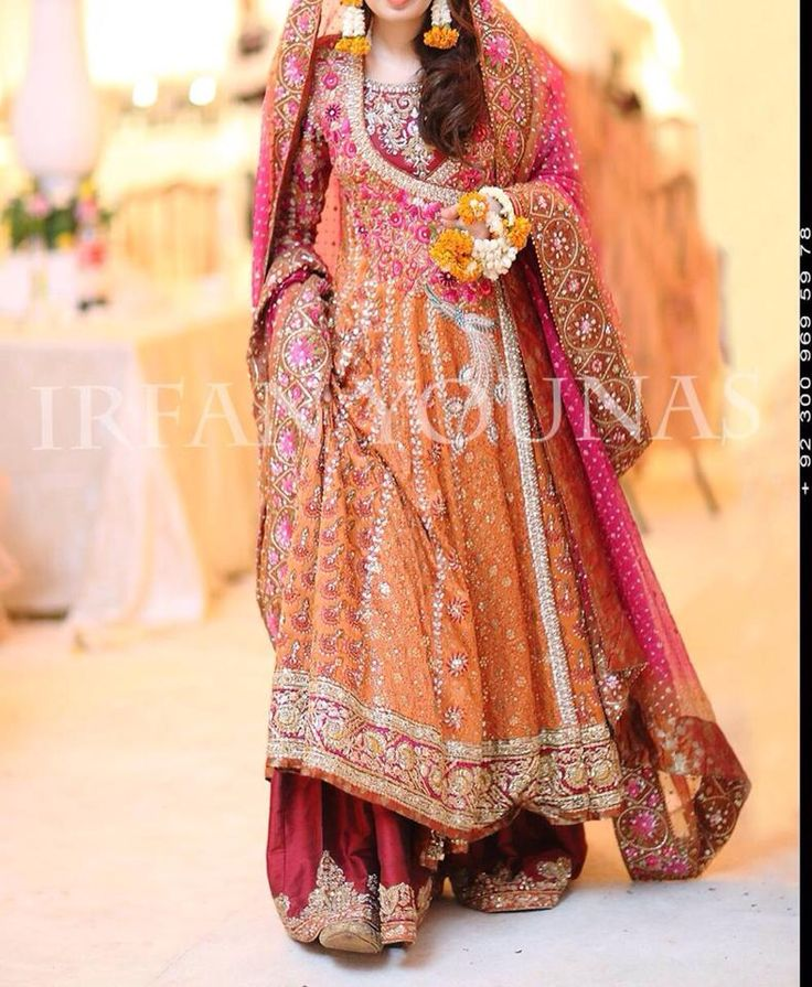 Pakistani Bridal Orange