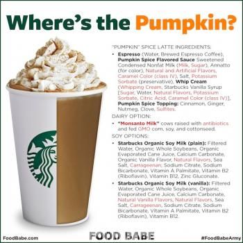 You'll Never Guess What's In A Starbucks Pumpkin Spice Latte (Hint: You Won't Be Happy)