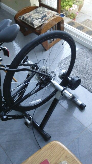 Turbo trainer all ready