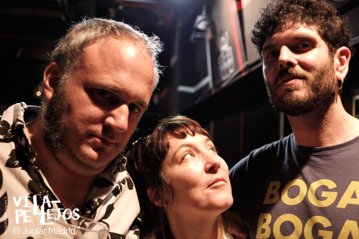 Ayuso (Fabuloso Combo Espectro, Juana Chicharro, Matajo) Sophie Pell y Char-Lee Mito (Villapellejos) Madrid 2016