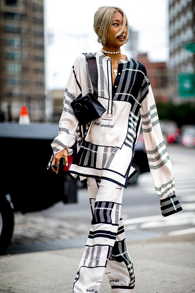8d8e4a9e3bb 101 Best Street Style Looks From New York Fashion Week Spring 2019 ...