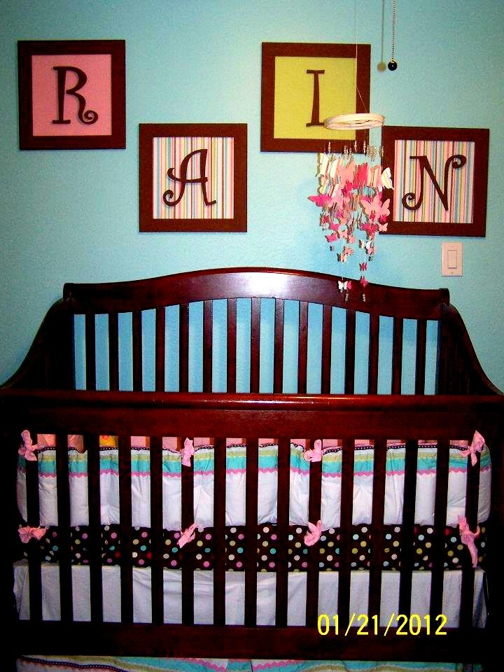 14 Best Images About Name Above Crib On Pinterest Name