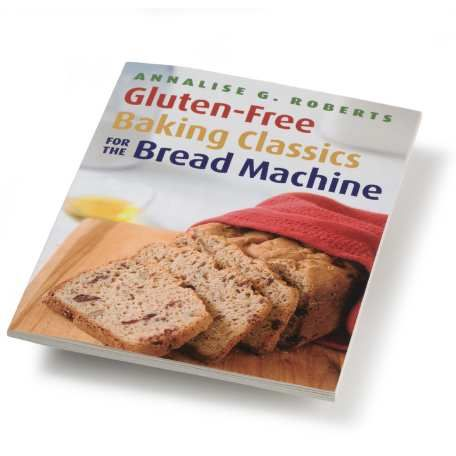 Gluten Free Baking for the Bread Machine. Help for gluten-free bakers Book is divided into breads with egg and dairy, and breads without. 19-page introduction helps you understand the science of gluten-free breads, and helpful information about using a bread machine to make them. All recipes tested in the Zojirushi bread machine.