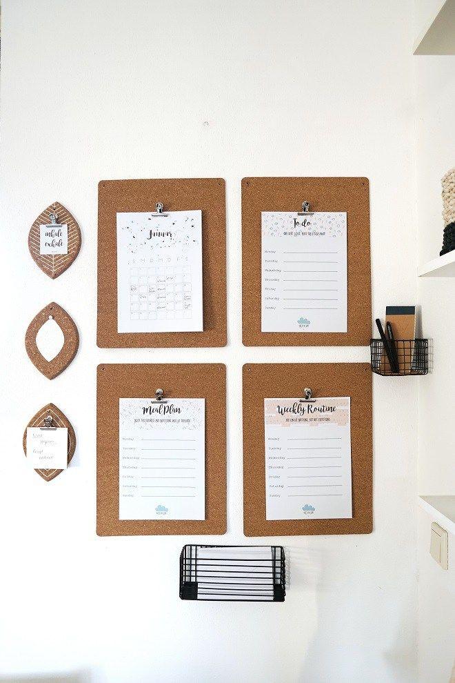DIY für besseres Familienmanagement: So organisierst du ...