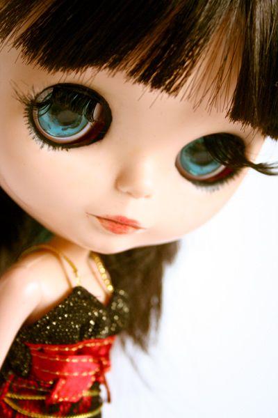 Pretty eyes!Pretty Eye, Costumes Blythe, Blythe Dolls, Blythe Spirit, Blythe Sedutora, Bottom Eyelashes, Blythe Pullip, Blythe Gorge, Beloved Blythe