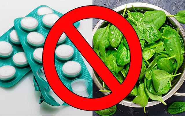 6 vanliga mediciner och matvaror du bör undvika att kombinera