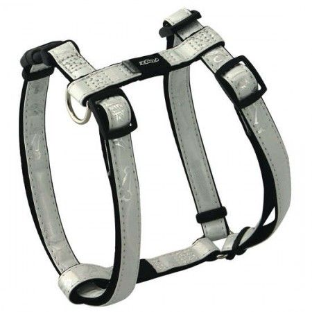 Rogz Pupz Zing Zip Zap Zo Dog Harness White - Medium - Rogz pupz - globaldogshop.com