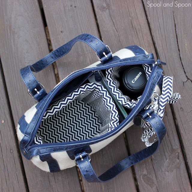 Purse to Camera Bag - A Tutorial Turn any purse you have into a roomy and customized DSLR camera bag with only a few supplies you might already have on hand.