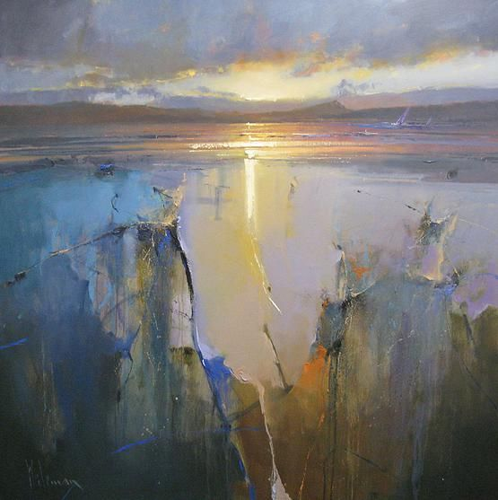 ABSTRACT LANDSCAPE BY PETER WEILEMAN, UK. peterwilemanartist.co.uk |