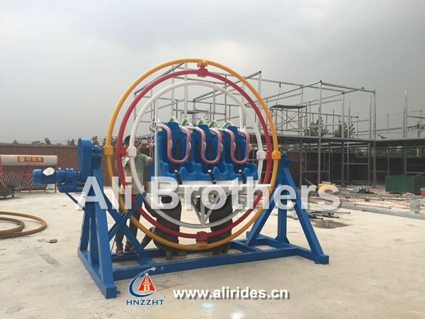 Human gyroscope installed successfully in Iraq-News-Ali Brothers Amusement Rides Professional Manufacturer