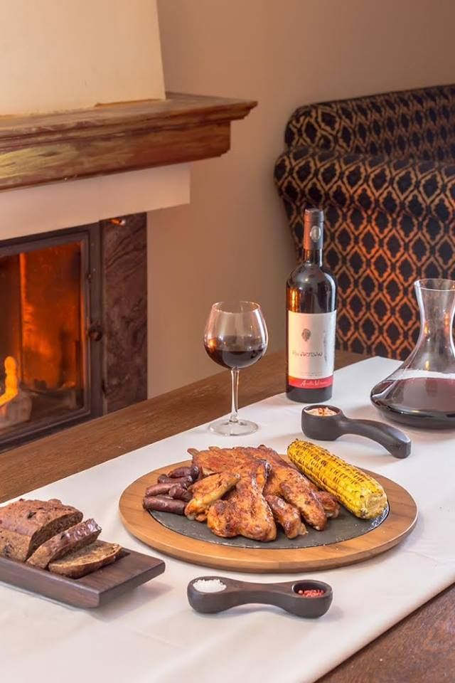 Sweet corn and steak. Red wine. Best dinner. Aurelia Visinescu Wines.
