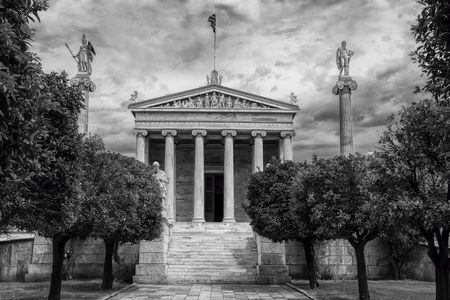 Timeless Education - Athens Academy Photo by Richard Freeman — National Geographic Your Shot