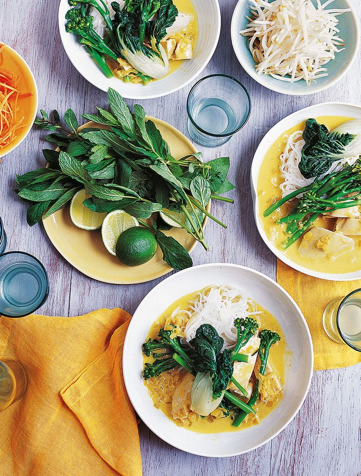 Anjum Anand's healthy chicken laksa recipe has been remodeled to fit in with Ayurvedic principles. Follow the link below to find out your body type.
