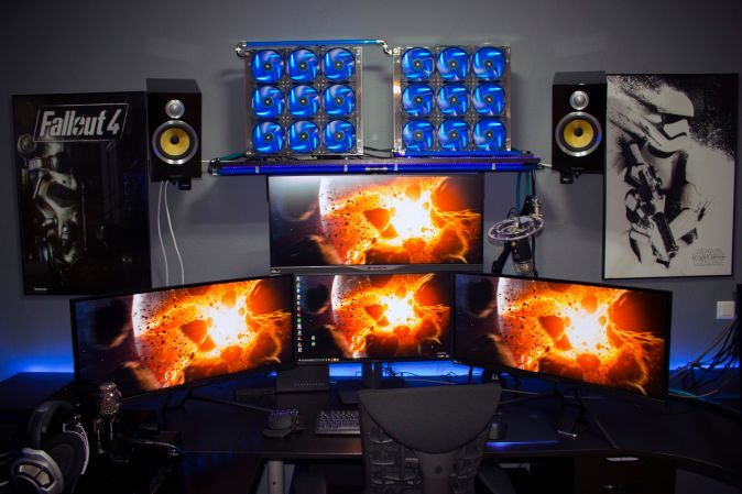 20 Gaming Battlestations That Will Make You Ridiculously Jealous   UltraLinx