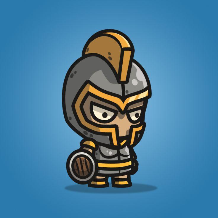 Heavy Armored Defender Knight