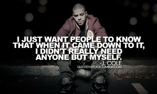 J Cole Crooked Smile Quotes Tumblr Cole #ColeWorld...