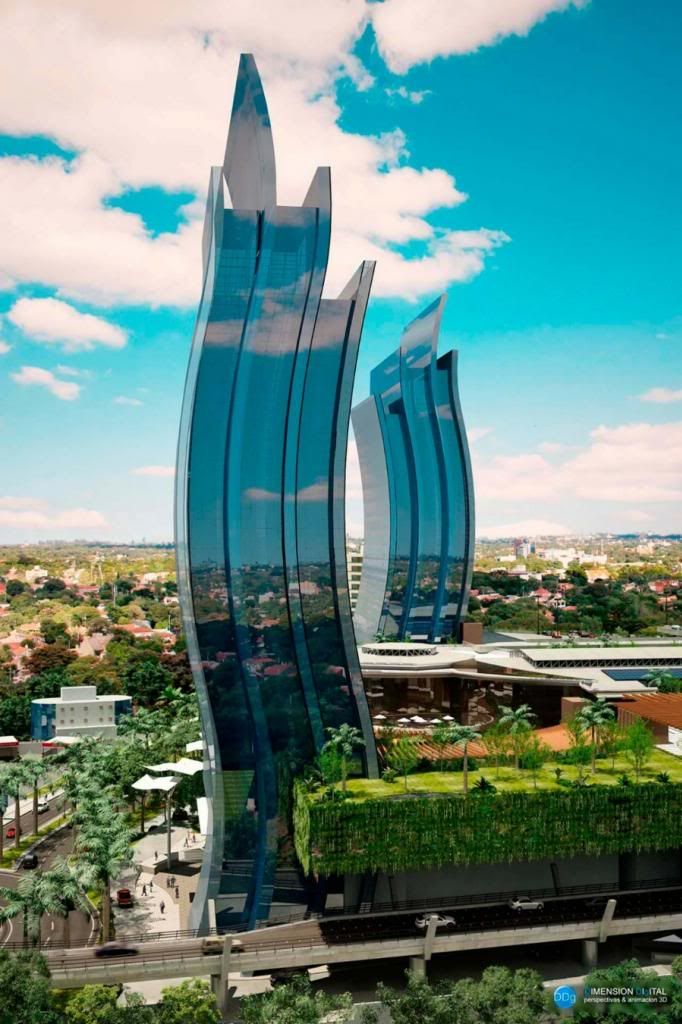 ASUNCIÓN | Paseo La Galería | 2 x 23p | 3p | E/C - SkyscraperCity