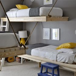 Kids bedroom inspiration.