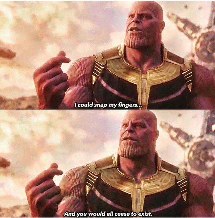 Thanos snap   Superhéroes, Marvel, Heroe