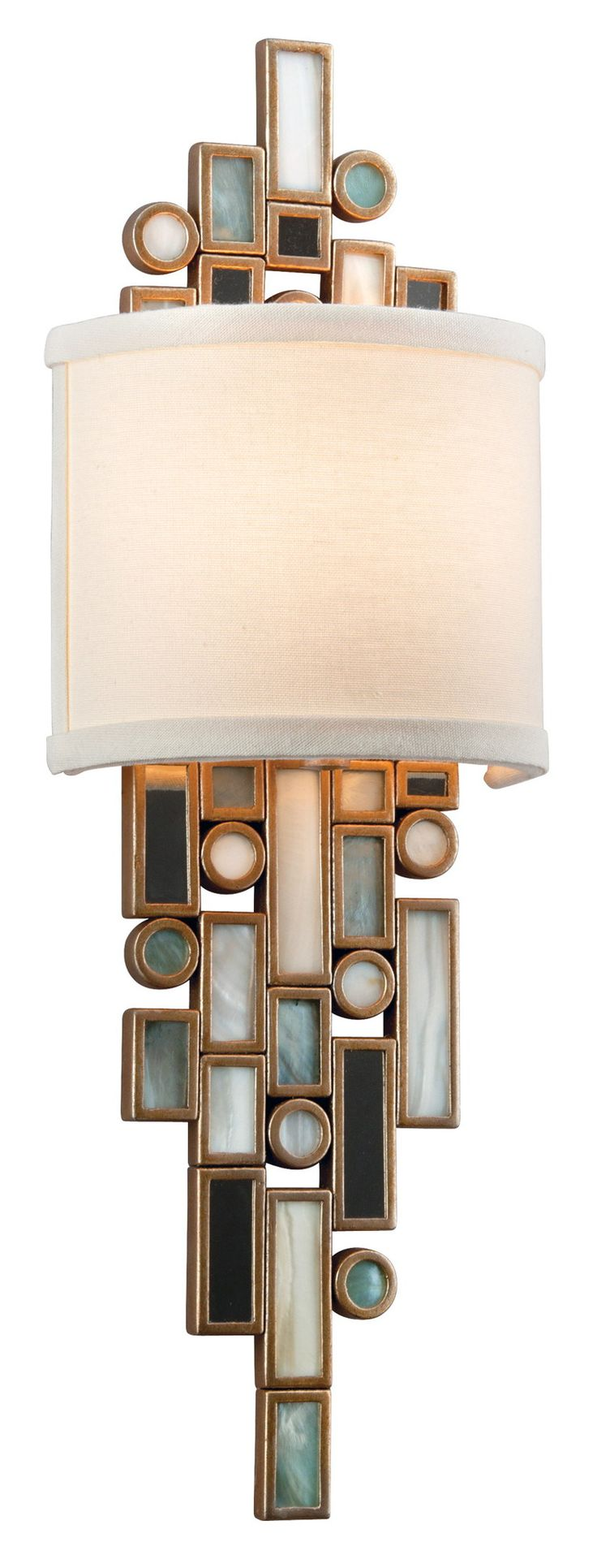 Corbett Lighting Dolcetti Wall Sconce in Silver