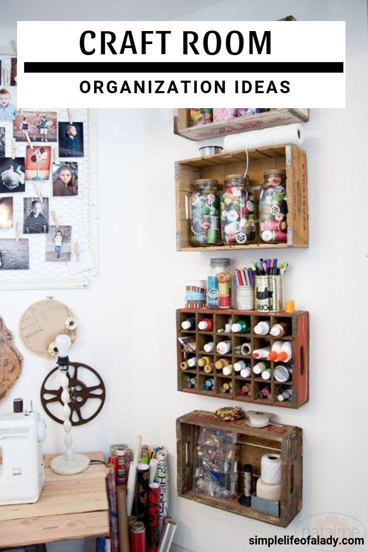 Amazingly Creative Ideas To Organize Your Craft Room | Organize