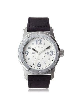 74% OFF JBW Men's J6284E Black/Silver Stainless Steel Watch