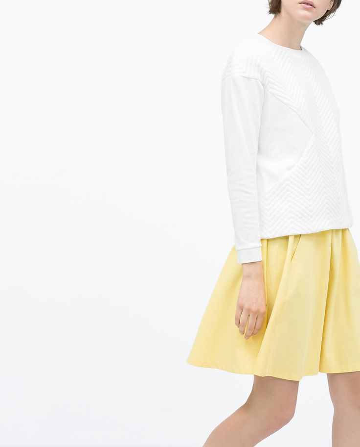 Image 4 of SKIRT WITH ELASTIC WAIST from Zara