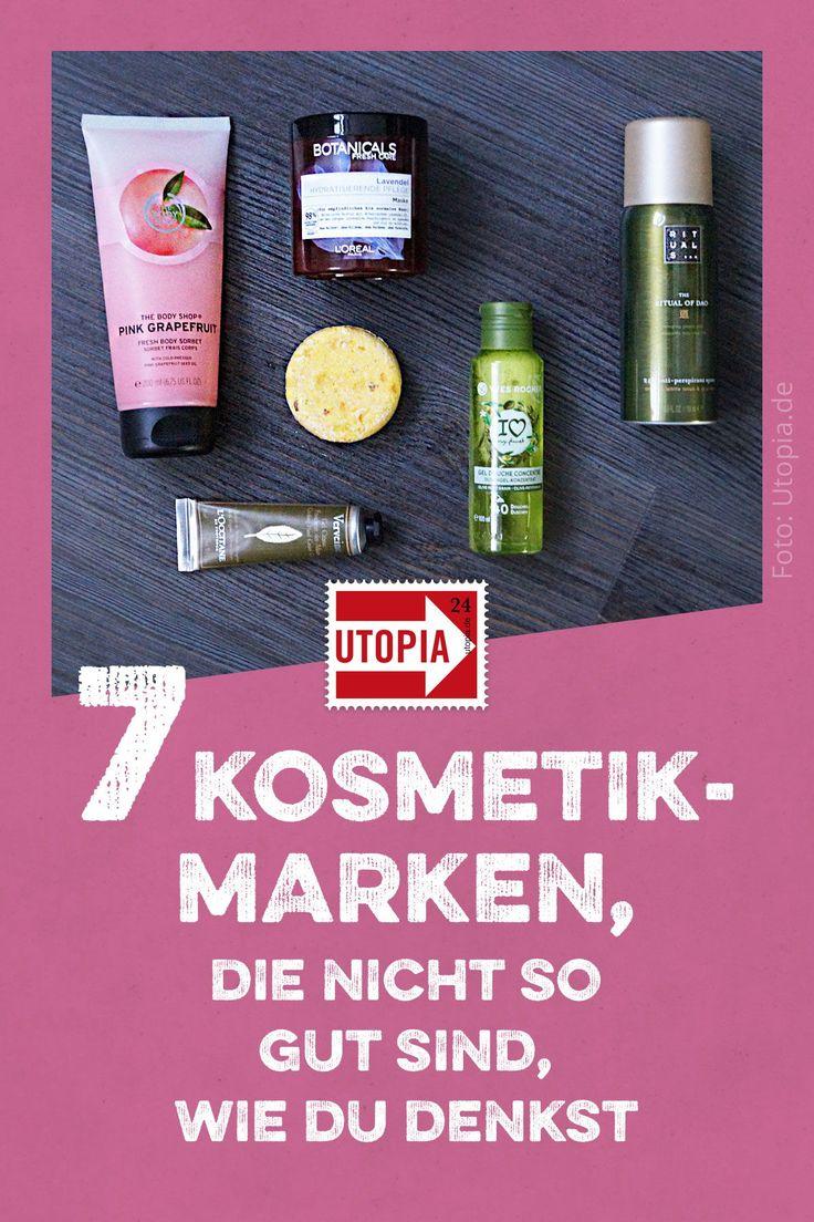 7 Kosmetikmarken, die nicht so gut sind, wie du denkst