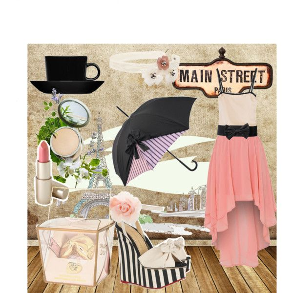 Pink Slip, created by nano9999 on Polyvore