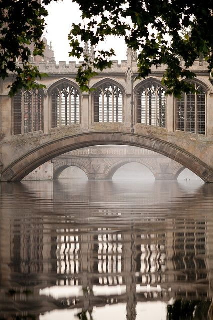 Bridge of Sighs, Cambridge, UK.....Maybe the bridge that Robin Trower sang about??