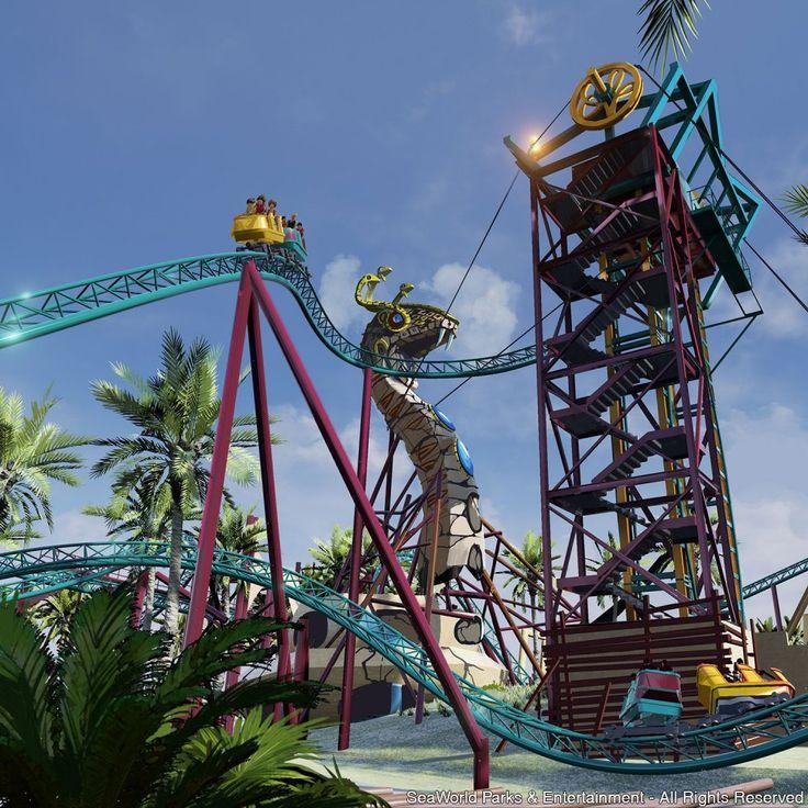 Busch Gardens coloca mais rodopios na aventura das famílias Tampa, FL (29 de Maio de 2015) - O Busch Gardens Tampa terá ainda mais emoção para as famílias em 2016 com a nova montanha-russa Cobra´s Curse....