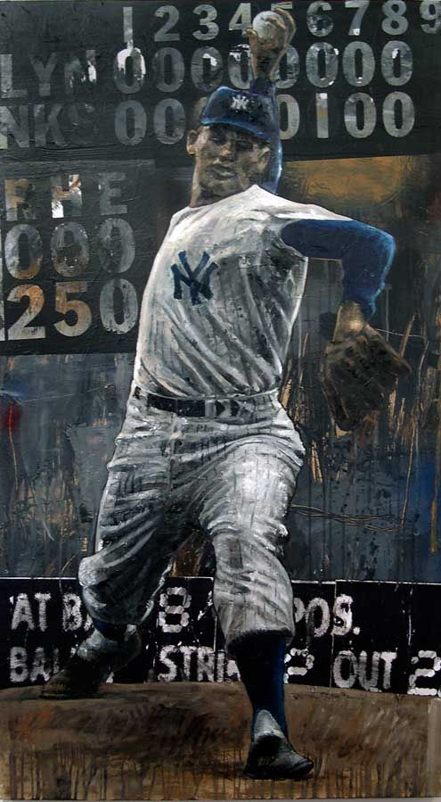 Do you remember Don Larsen's perfect game against the Brooklyn Dodgers back in 1956?, #rememberthis
