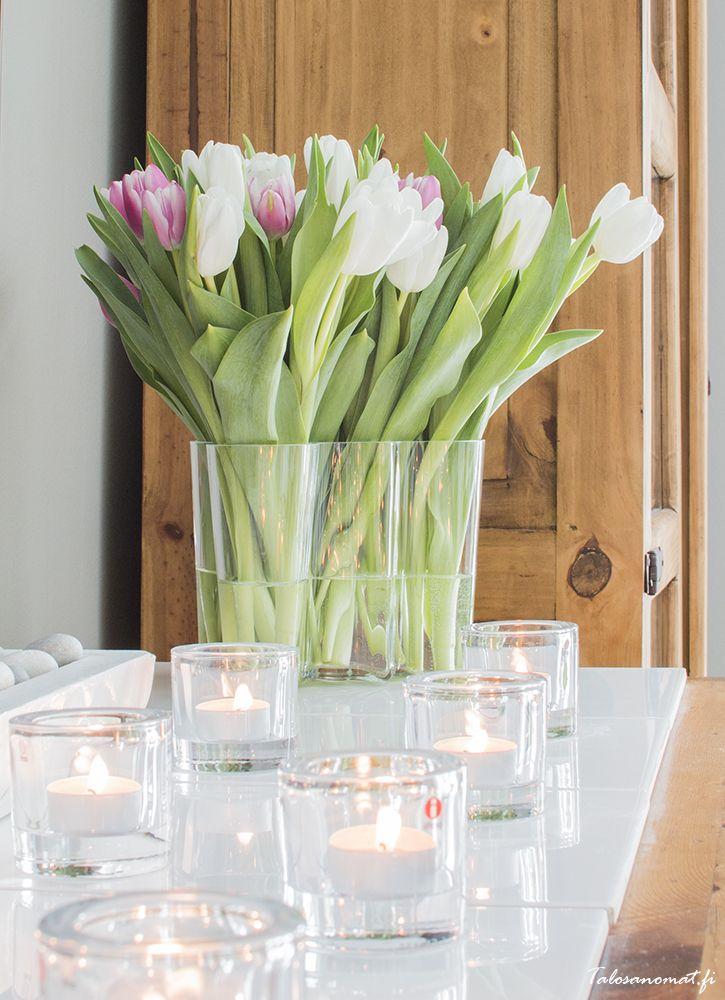 iittala alvar aalto vase and kivi candle holders