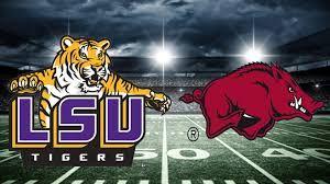 Image result for LSU vs. Arkansas