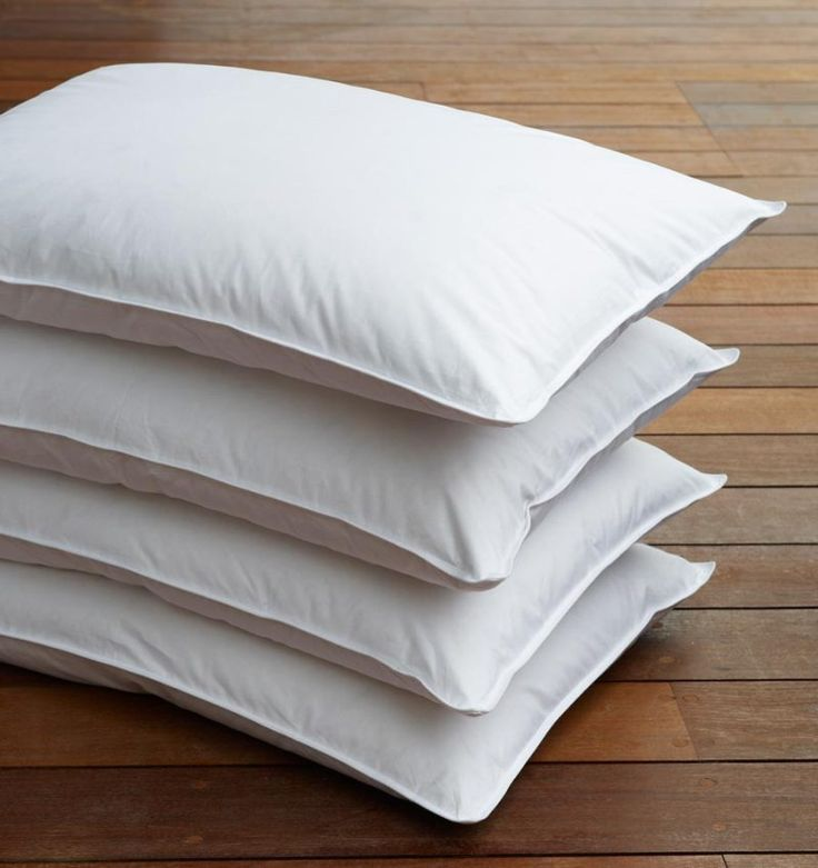 Pillow CANNON 50% down 50% feather 100% cotton 280TC