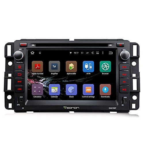Eonon GA6180F Android 5.1 Car DVD Player Special for Chevrolet/GMC Silverado/Express Van/Avalanche/Acadia/Yukon/Impala Quad Core Lollipop In Dash GPS Radio Stereo 7 Inch 2 Din Multimedia