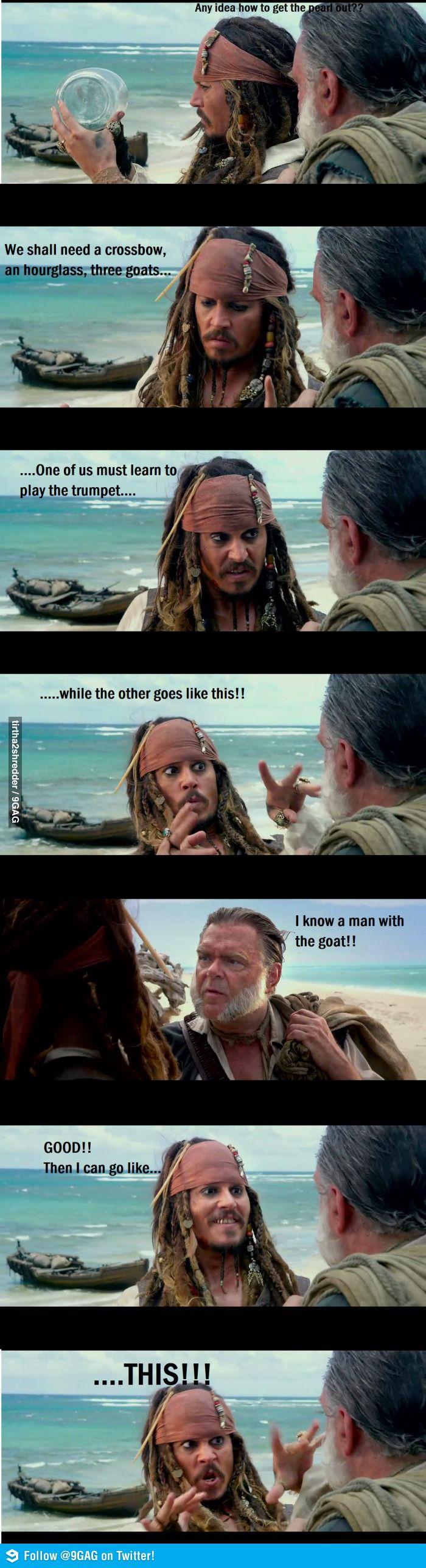 Just Jack Sparrow....