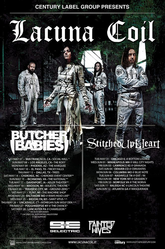 Lacuna Coil » The Italian Gothfathers