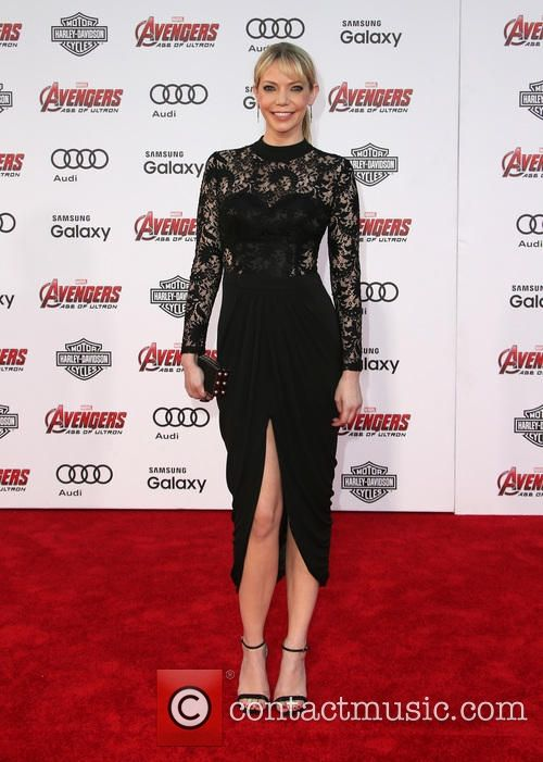 Riki Lindhome at the premiere of The Avengers age of Ultron