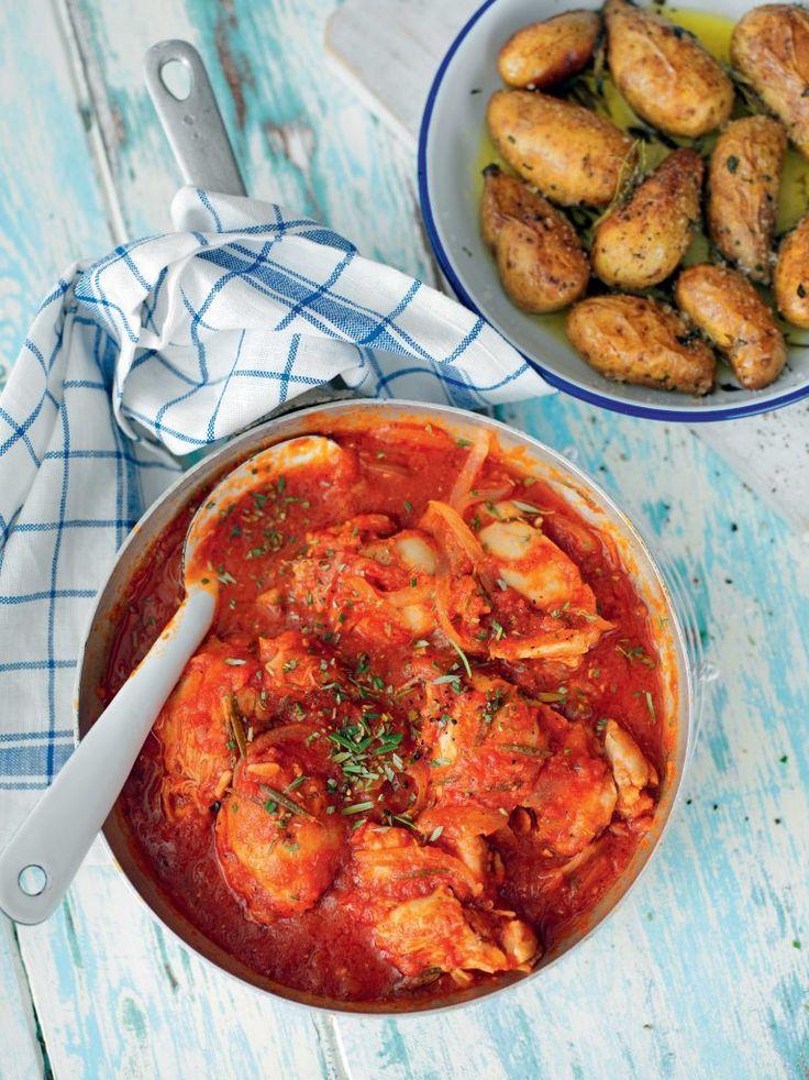 Tomatbrässerad kyckling med rosmarin | Recept - Zeta