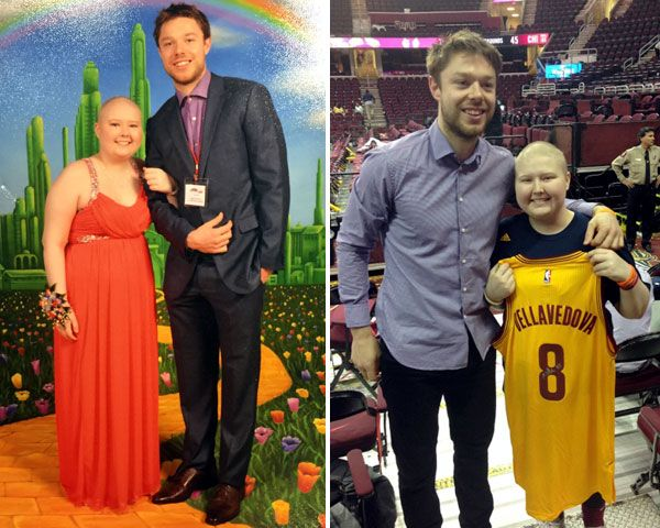 Matthew Dellavedova inspires cancer patient after escorting her to prom