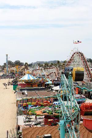 Oooh this was fun The Boardwalk, Santa Cruz Summer 2013