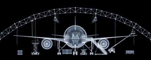 2003 | Boeing 777 | X-Ray Photo by Nick Veasey | Source