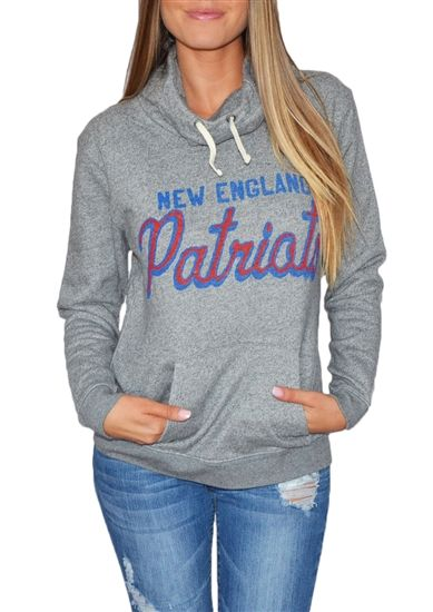 New England Patriots Womens Cowl Hoodie d0453fcbc1