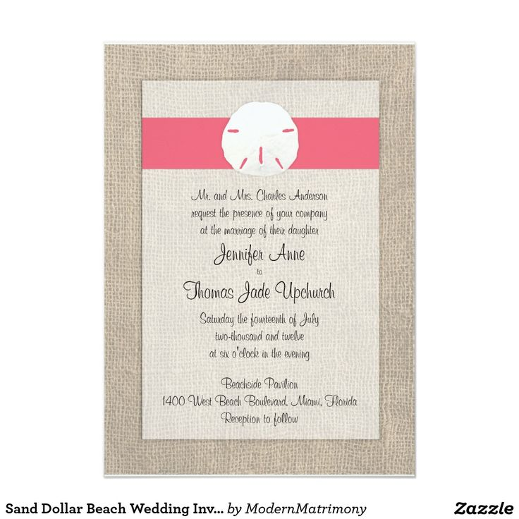 777 best Beach Wedding Invitations images on Pinterest | Beach ...