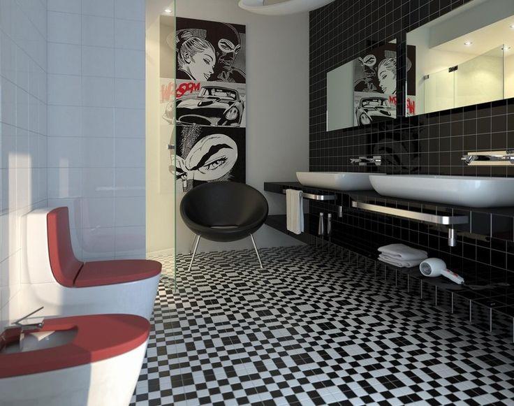 17 migliori idee su pavimenti per esterni su pinterest - Piastrelle tipo mosaico ...