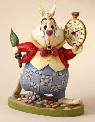 Alice in Wonderland- White Rabbit Jim Shore